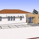 projet architecture cabinet Dr Magnien à Aramon